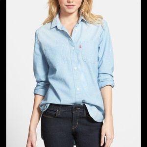 Levi's Boyfriend Fit Soft Denim Shirt
